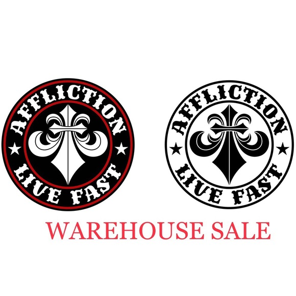 Affliction Other - AFFLICTION WAREHOUSE SALE!! 10% OFF ON DISCOUNTED